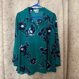 Fun 3/4 blouse - perfect for end of summer!